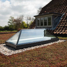 Fixed lantern rooflight installation enhances Grade II listed property