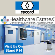 record uk showcasing Automatic Solutions at Healthcare Estates