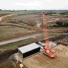 FP McCann's large box culvert sections channel watercourse beneath Northamptonshire development