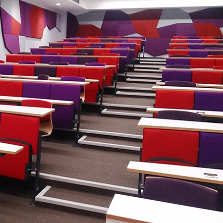 Inova 'turn and learn' seating for Cardiff University