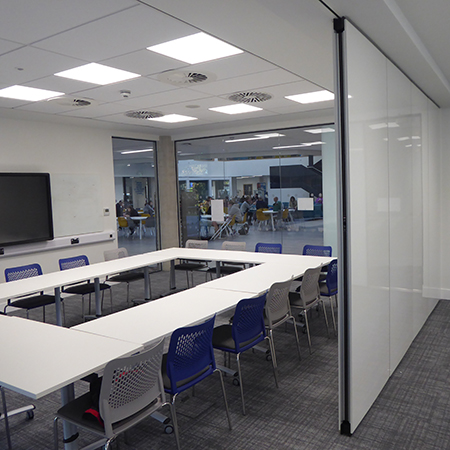 Flexible space solution for the The University of Gloucestershire