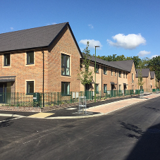Spectus Flush Tilt & Turn windows fitted for Crawley social housing