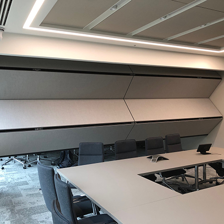 Acoustic flexible space ensured for High Fidelity