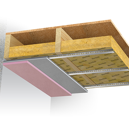 Maxi 60 Ceiling System: A dependable fire rated soundproofing solution