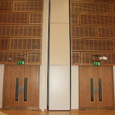 7 metre moveable wall installed in London school