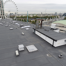 Alumasc durable roofing for London's premium Whitehouse Apartments