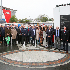 Tobermore Supply Paving for Ulster Rugby Syd Millar Pathway