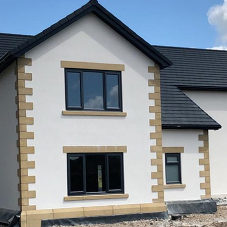 Johnstone's Trade high performance render system specified for new build