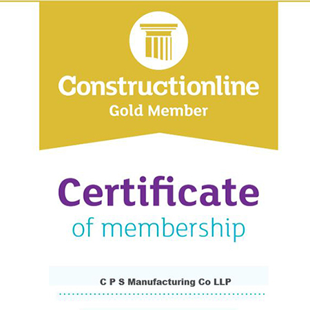 CPS Awarded Constructionline Gold Membership