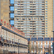 Spacetherm® SLENTEX® A2 insulation improves Balfron Tower thermal performance