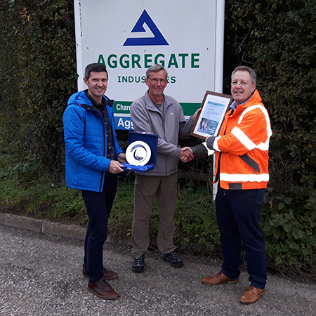 Aggregate celebrate success at MPA Restoration and Biodiversity Awards