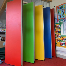 A rainbow partition for vibrant Hackney school