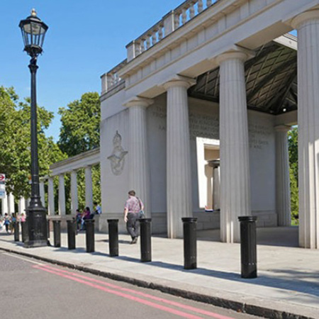 Furnitubes Bollards ensure safety at The Bomber Command Memorial
