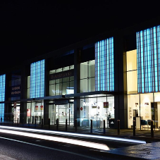 HI-MACS® light up retail park in Edinburgh