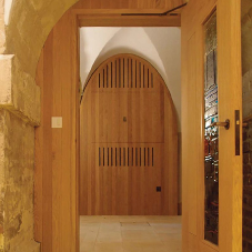 James Latham provide new fire doors for old London Church