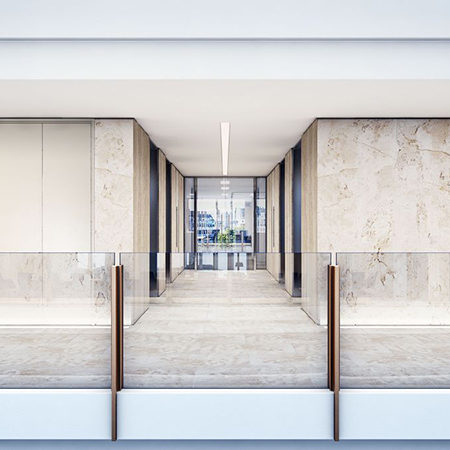 Stunning lightweight stone cladding for Standard Life offices