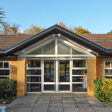 Secure Guttercrest systems for NHS psychiatric hospital