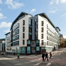 Velfac provide 'Excellent' products for Holyrood South Student Accommodation