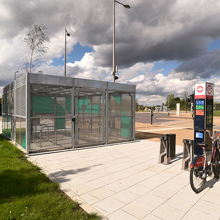 Innovative Cycle Hubs for former Olympic Stadium in Stratford