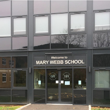 Kestrel Aluminium provide the complete package for Mary Webb School