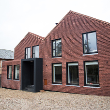 Tudor's Plain Clay Tiles bring wow factor to Channel 4 featured home
