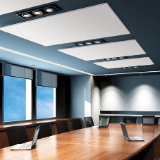 Serenity Cloud – Ecopaint Suspended Acoustic Ceiling Panels