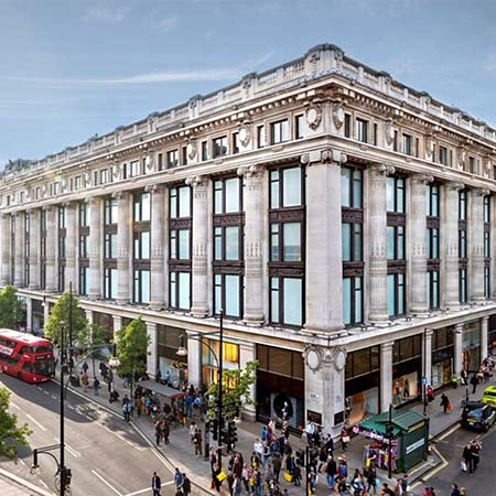 Buzon ALUrail offers structure for Oxford Street Selfridges