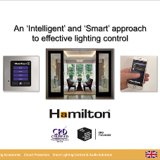 Hamilton launches CPD on smart lighting control