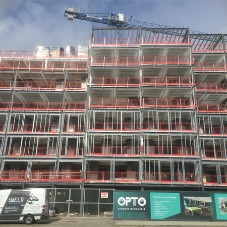 Wraptite® membrane installed on Newcastle high rise student accommodation