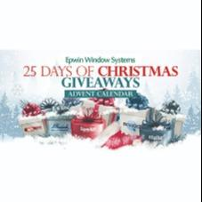Epwin Window Systems 25 days of Christmas advent calendar giveaway