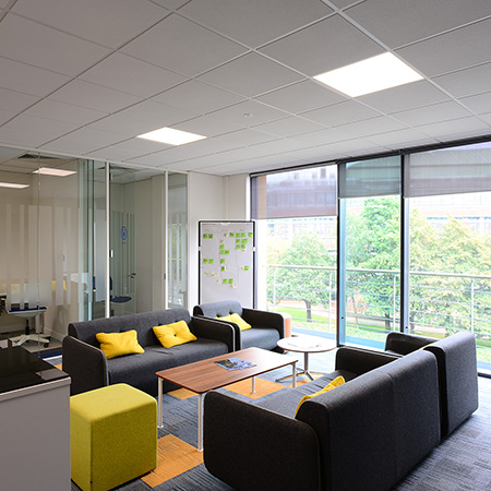 Ultra-green Armstrong ceilings help npower with sustainability