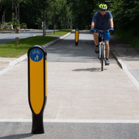 Glasdon launch new generation of Cycle Route Bollards
