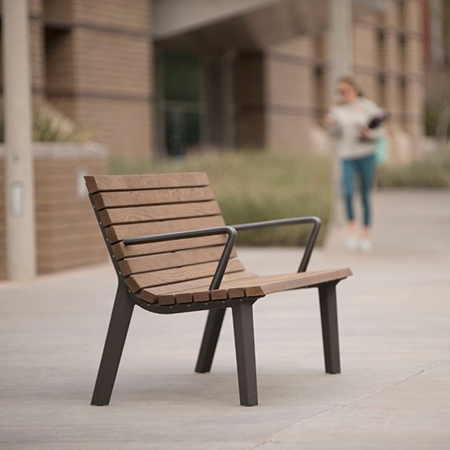 Landscape Forms launch Generation 50 Bench for anniversary