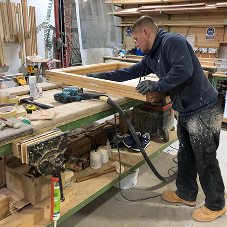 Apprenticeships: Alfie – Level 2 Joinery and Carpentry