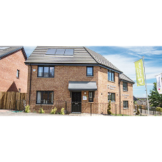 Profile 22 Optima windows & French doors chosen for affordable housing