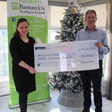 Tobermore show true Christmas spirit with £20,000 Barnardo's donation