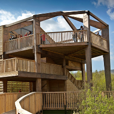 VELFAC are a major feature at the innovative 360 observatory in Wales