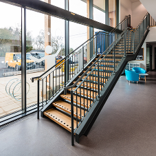 M&G Olympic provide Kingham Hill School with breathtaking indoor staircase