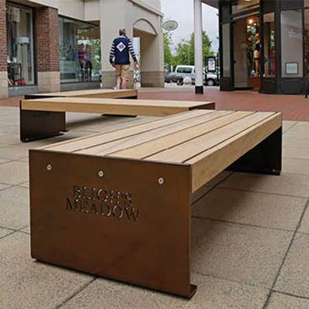 Elements® XL benches perfect for Bligh's Meadow Shopping Centre