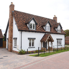 Bespoke development on former Paddocks in Cambridgeshire