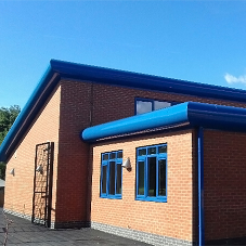 ARP helps to match school's new extension