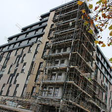 Sapphire Balconies expert logistics overcome tight deadline at Kennet House