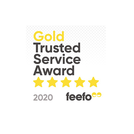 Kedel win Gold Trusted Service Award 2020