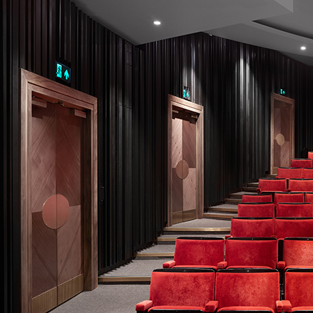 Acoustic and fire rated doorsets for Bloomsbury Theatre in London