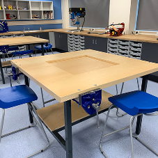 Blackminster Middle School's complete Science and DT Laboratory refurb
