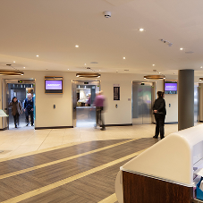 Orona install at Premier Inn, Terminal 4, London Heathrow Airport