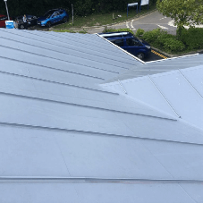 Value engineering roofing solution for a school extension