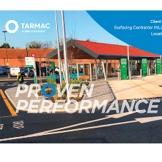 Tarmac ULTISHIELD durability perfect for heavily used bus station