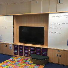 Teaching Walls help with the modernisation programme at Hollymount School