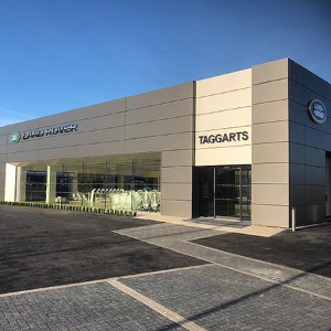 BritFab provide panels for rebranded Jaguar Land Rover showroom